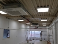 Commercial air con internal ceiling cassette recessed